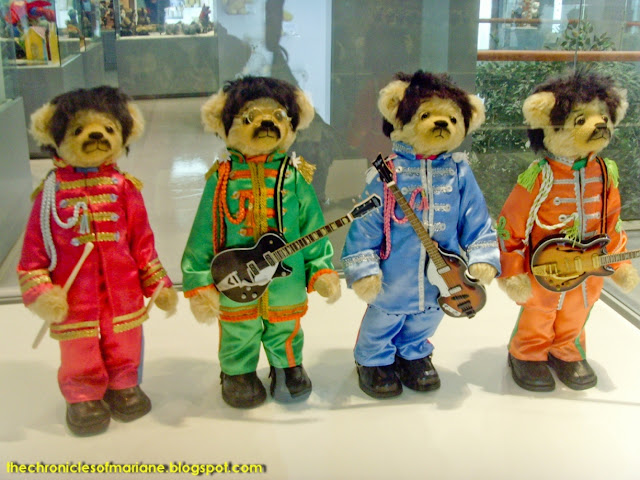 teddy bear beatles