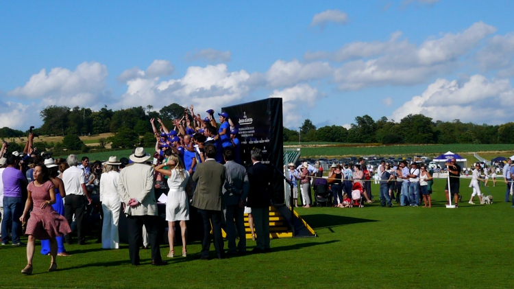 Jaeger-LeCoultre Gold Cup winners at Cowdray polo