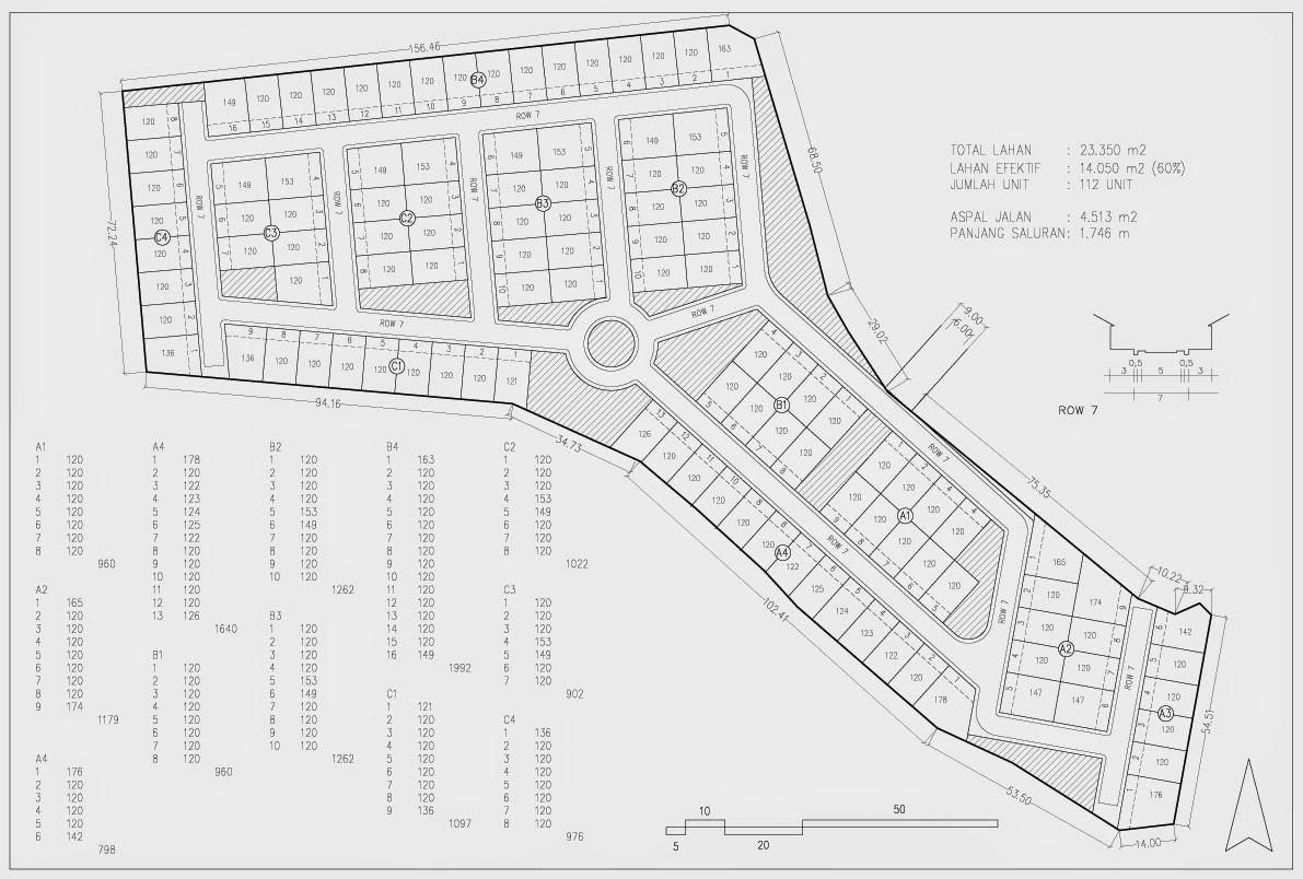 Site Plan Kavling 120