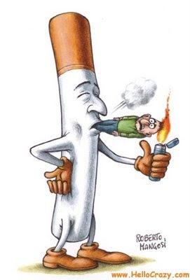 Deixar de fumar a ajuda em uma oração