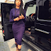 Former Miss Nigeria UK, Dabota Lawson steps out in Her Black G-WAGON Ride.