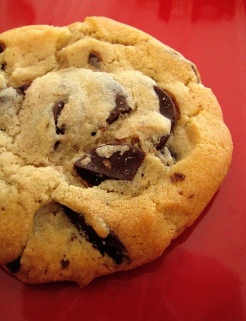 Biscuits aux brisures de chocolat et éclats de bananes séchées