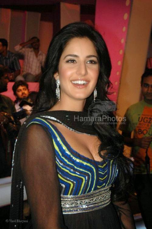 Katrina Kaif at Race music launch on the sets of Amul Star Voice Chotte Ustaad in Film City on Feb 4th 2008