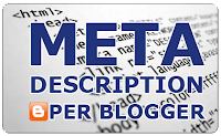 Meta description blogger