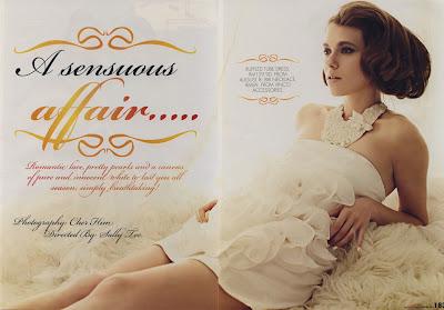 Dasha Anisimova for CLEO Magazine Malaysia