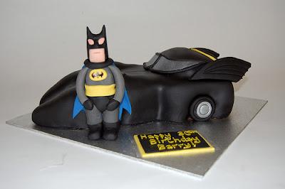 Batmobile Birthday Cake Decorations