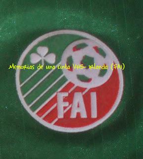 escudo de Irlanda, Corea del Sur y Japón 2002, Ireland, FAI, badge