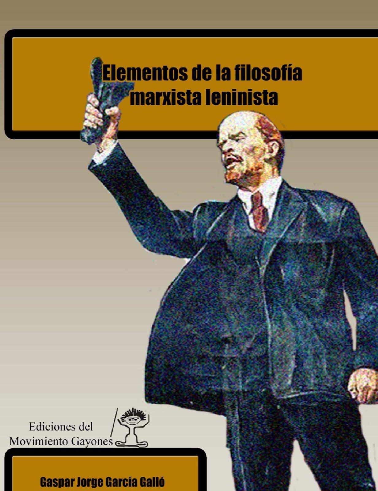 """Descarga el libro """"Elementos de la filosofía marxista"""""""