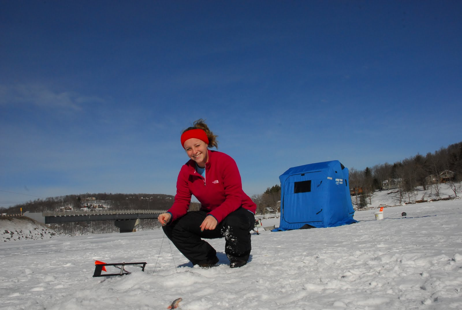 Ice fishing taylor made deep creek vacations sales blog for Ice fishing sale