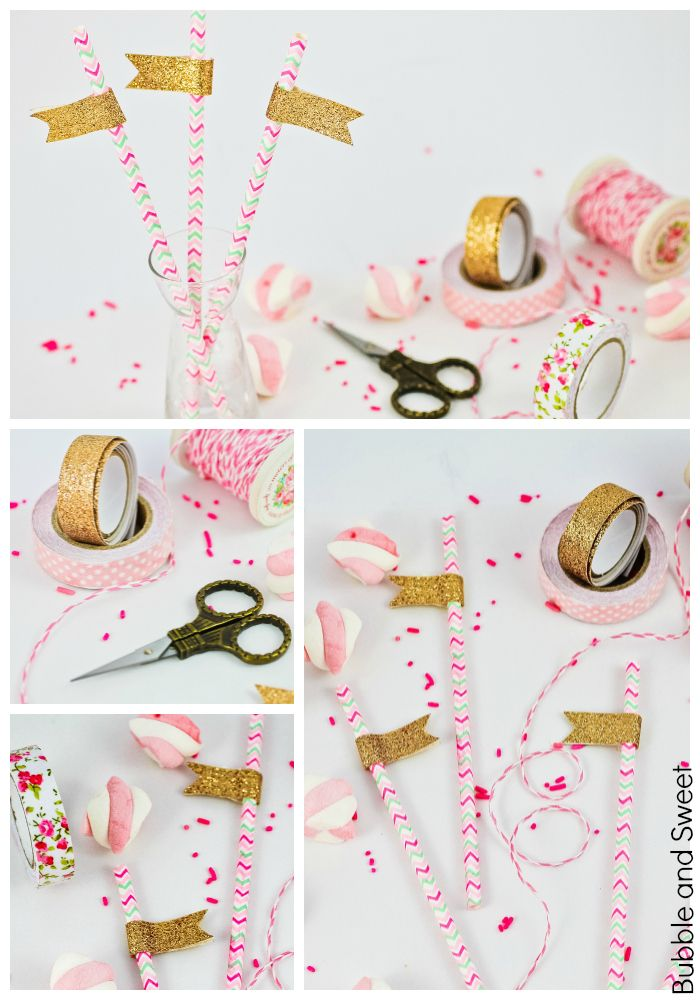 Bubble and sweet all that glitters party straws diy budget party bubble and sweet all that glitters party straws diy budget party craft solutioingenieria Choice Image