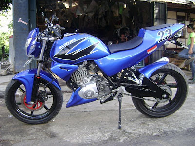 suzuki thunder 125 street fighter