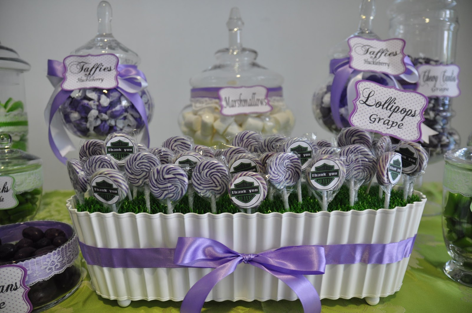 A Reception To Remember Candy Buffet For An Indian Wedding