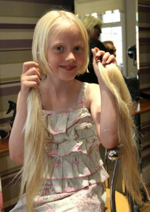 Kisah Nyata Rapunzel Cilik Yang Menyumbangkan Rambutnya Untuk Penderita Kanker
