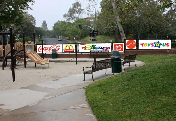 Atlanta park advertising