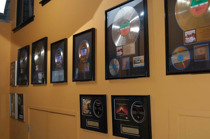 some Pajama Studios gold records