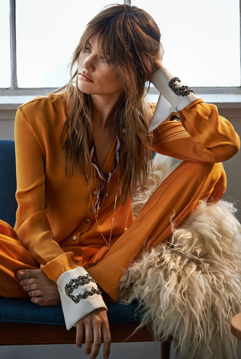 Behati Prinsloo in Rock Chic editorial | The Edit (photography: Chris Colls, styling: Maya Zepenic)
