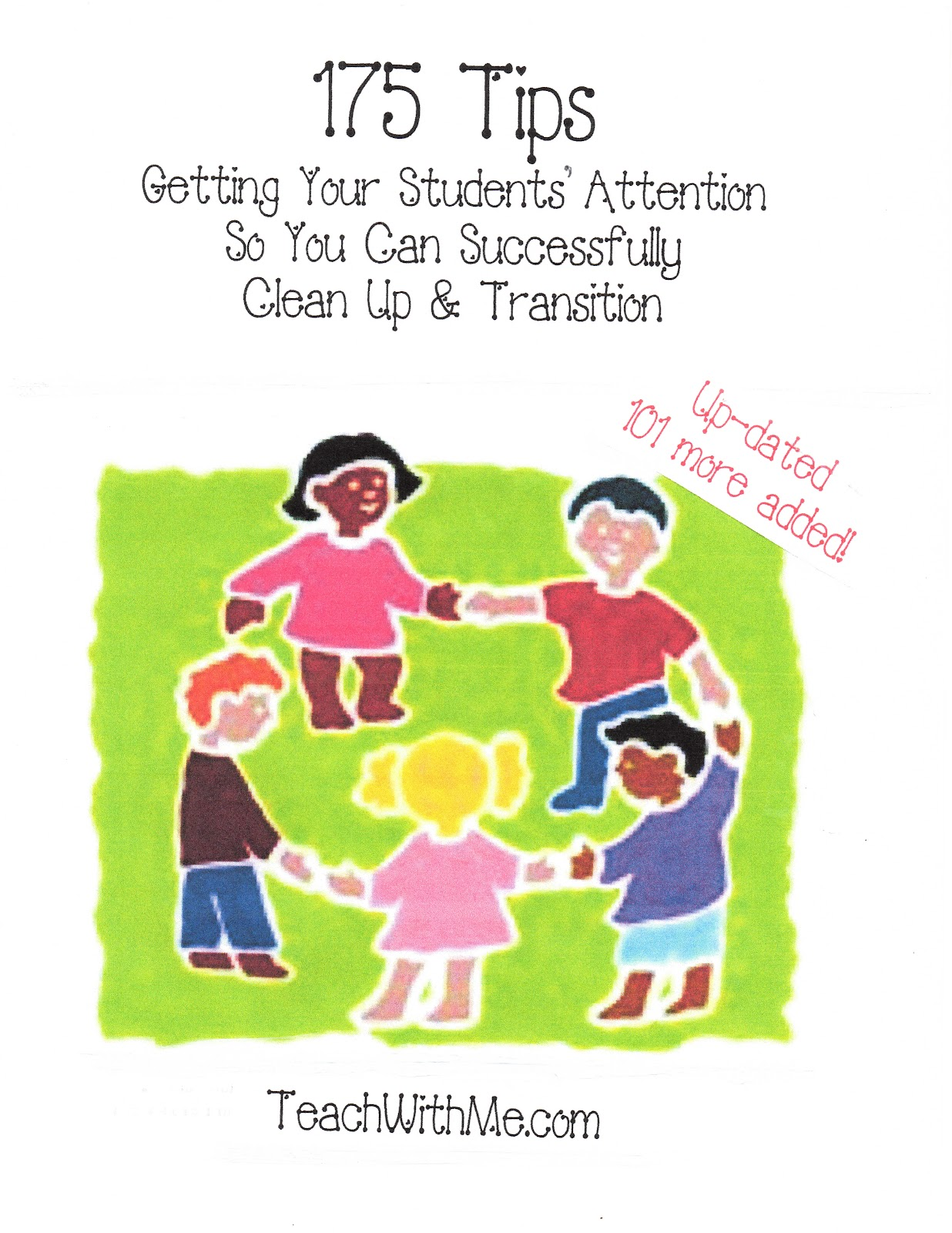Classroom Transition Ideas ~ Transition tips classroom freebies