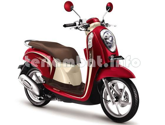 New Honda Scoopy FI 2013