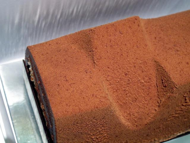 Bûche de Noël Chocolat 2012 - Jacques Génin - Paris