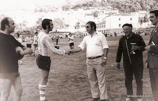 Futbol en Candelario Salamanca en 1971