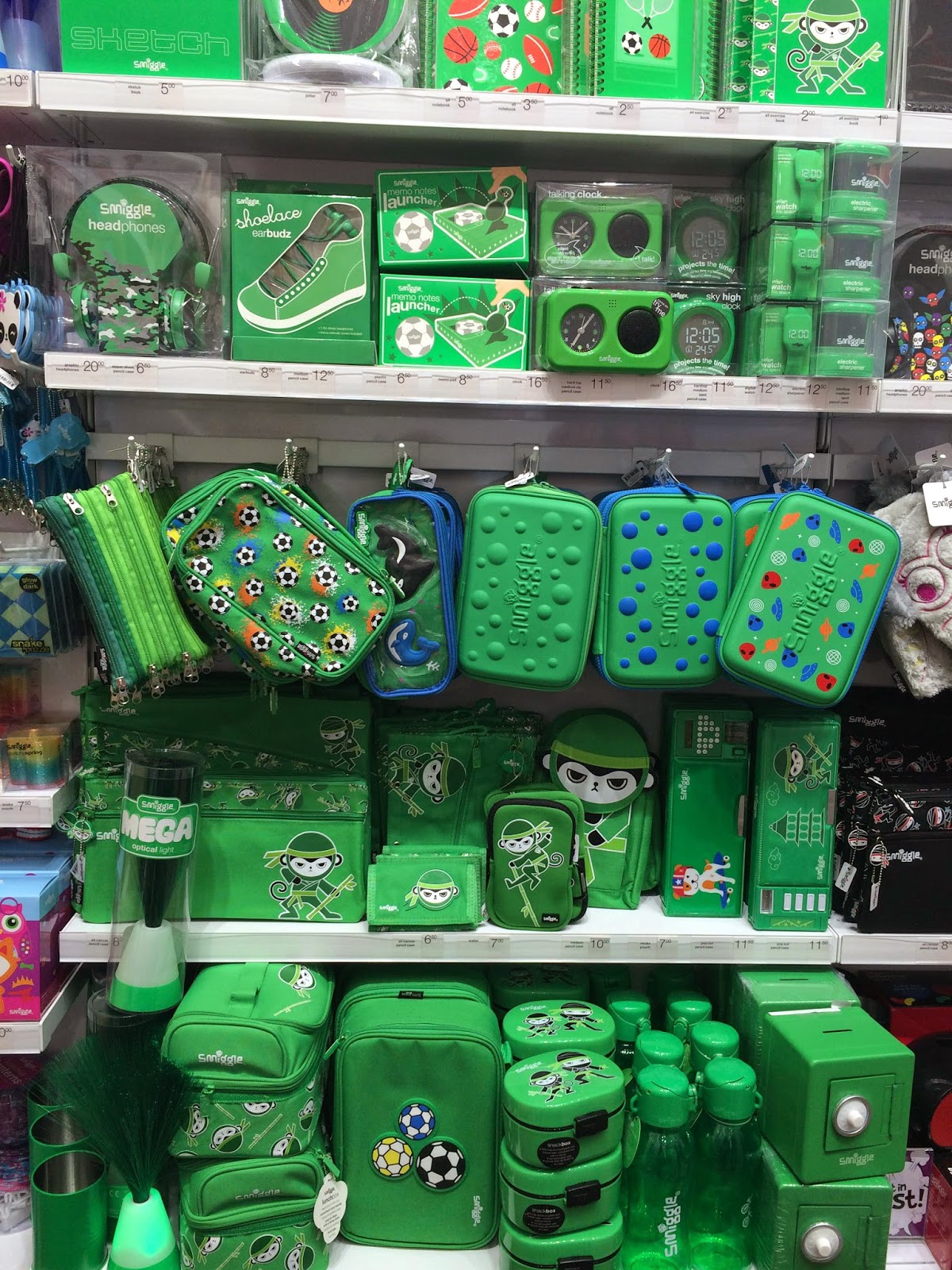 Smiggle Green