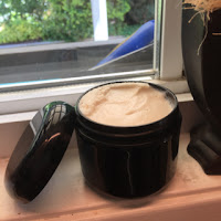 Six ingredient lotions: Rice bran & mango butter body butter
