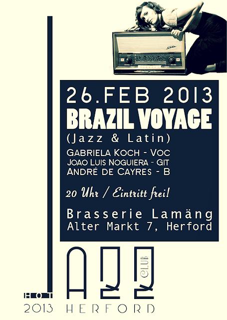 Hot Jazz Club Herford - Brazil Voyage