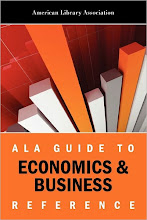 ALA Guide to Economics & Business Reference by the American Library Association