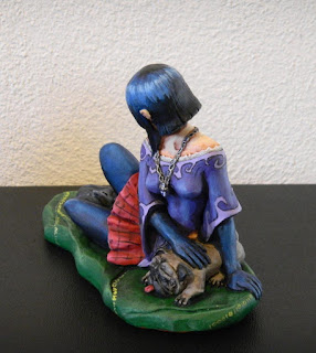 fumetto fumetti orme magiche modellini statuina statuette sculture action figure personalizzate fatta a mano maquette
