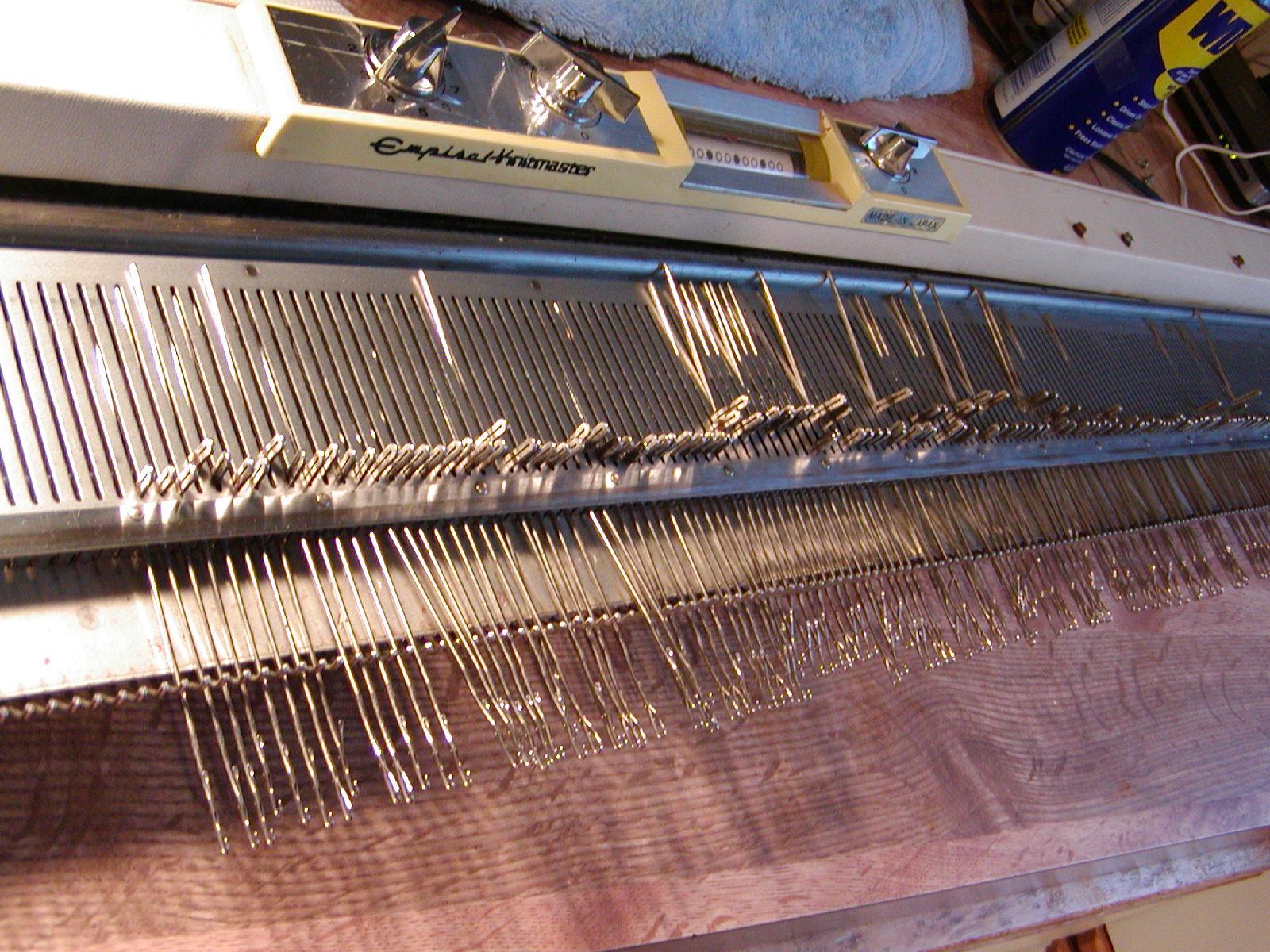 Addicted to Machine Knitting: Empisal Knitmaster 305