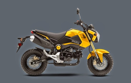 2015 Honda Grom Specification And Price The Motorcycle
