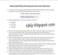 office professional plus 2013 cara aktivasi microsoft office 2013
