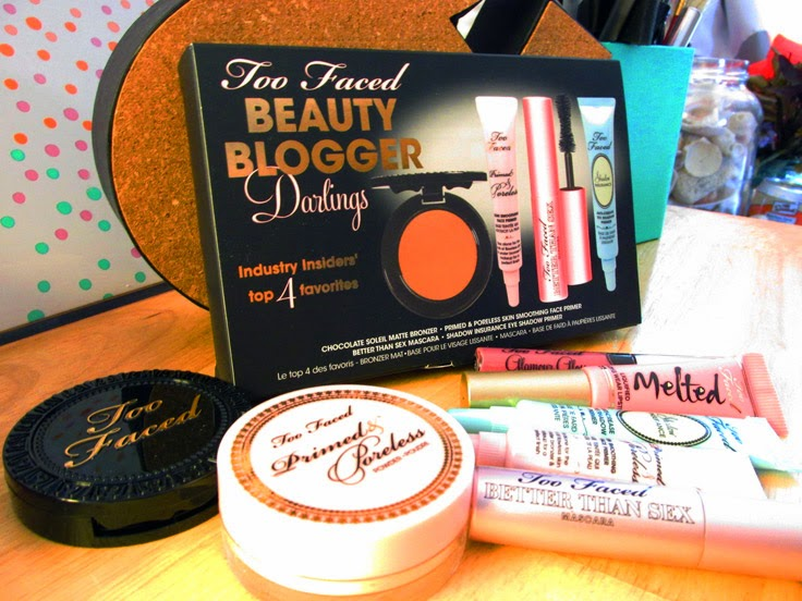 Too Faced Beauty Blogger Darlings | Hey There Ray