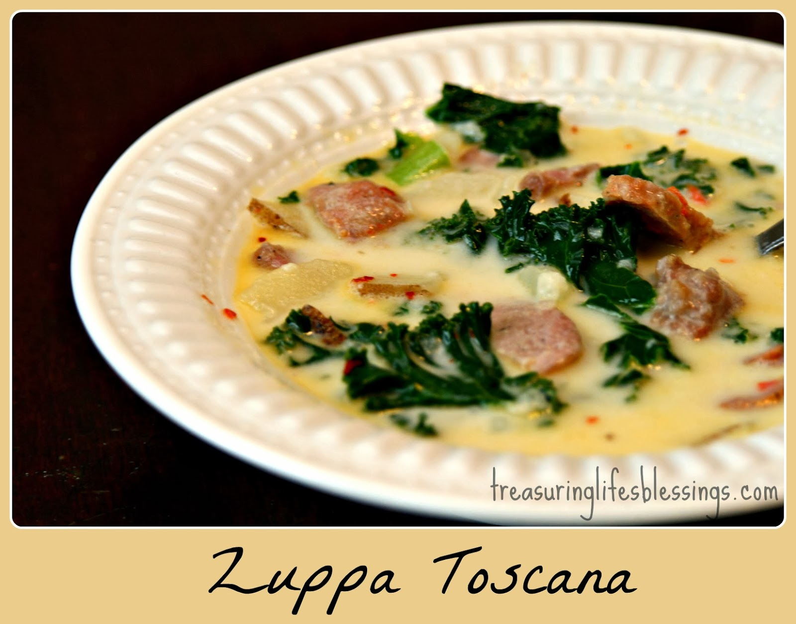Zuppa Tuscana, soup, olive garden soup