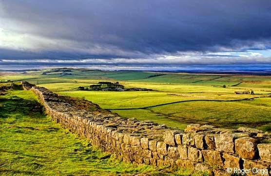 Tembok Hadrian - Inggris