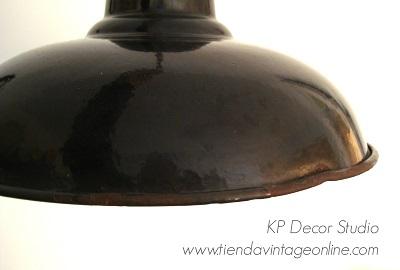 Comprar lámpara colgante industrial antigua de verdad