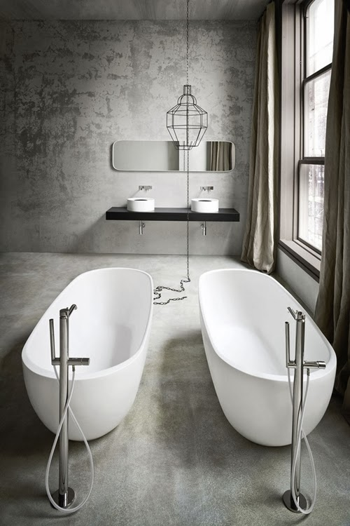 World of architecture 27 cool types of bathtubs for for Salle de bain originale