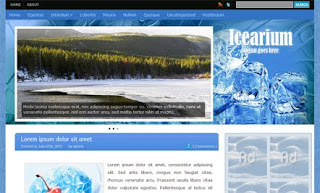 Icearium WordPress Theme