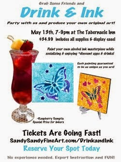 Drink & Ink at The Tabernacle Inn!
