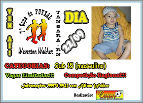 7ª COPA WEVERTON WEBHER