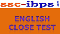 Quest For LIC AAO :: English Close Test