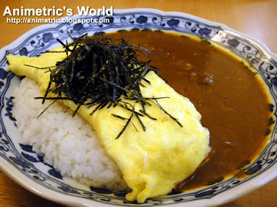 Curry Omelet at Yumemiya Japanese Cafe