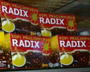 Kopi Pracampuran RADIX