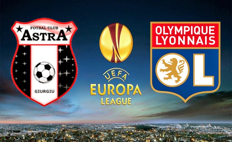 OLYMPIQUE LYON ASTRA Europa League Live