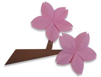 Membuat Origami Sakura (Cherry Blossom)