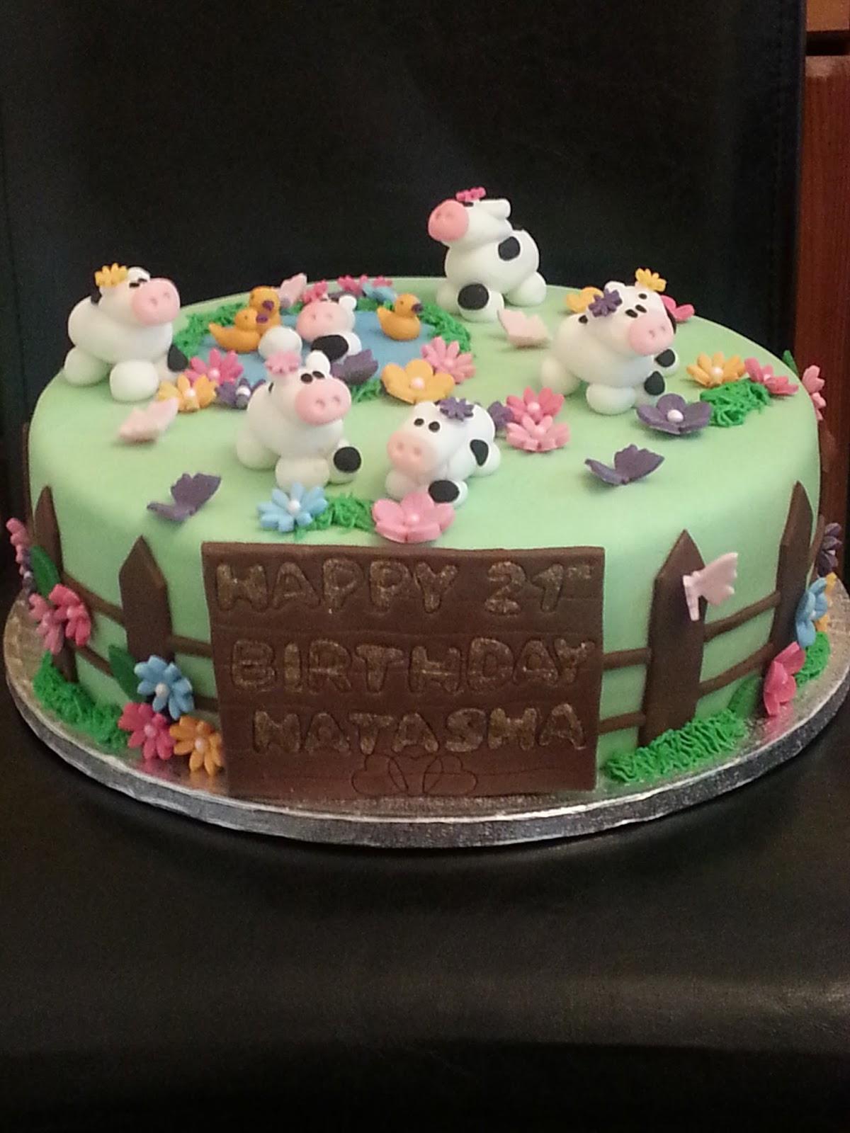 Kims Kake Box Cow Cake