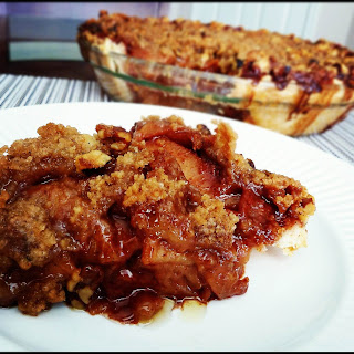 Southern Comfort (Drunken) Caramel Apple Pie