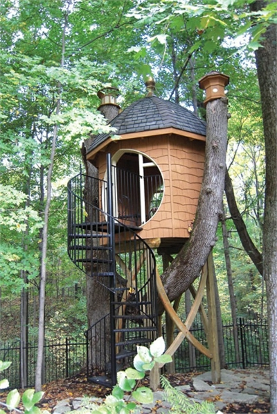 12 modern tree house designs most beautiful for One of a kind house plans