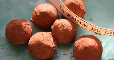... Friday...Robert Linxe's Chocolate Truffles (La Maison du Chocolat