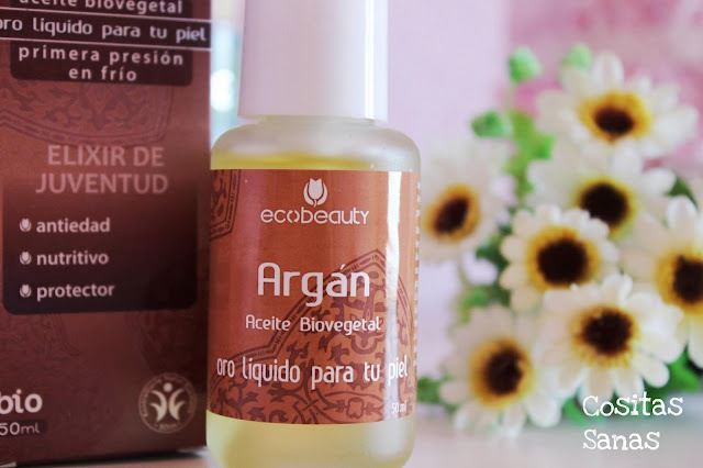 Cosmetica natural aceite de argan